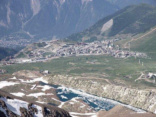 Alpe d`huez am See