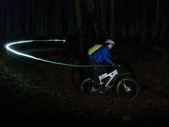 Bike by night-6