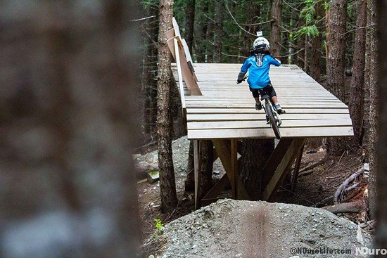 WHISTLER Fade to black Trail - the little one - go big