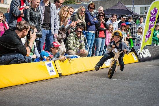Nachwuchs-Racer beim Swatch Rocket Air Nipper Race
