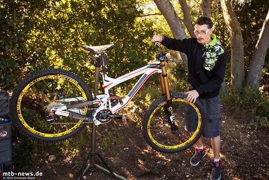 Polygon DH Team-Bike