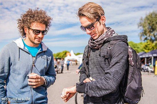 Rob J und Sven Mack - die beiden werden zusammen beim Cape Epic an den Start gehen