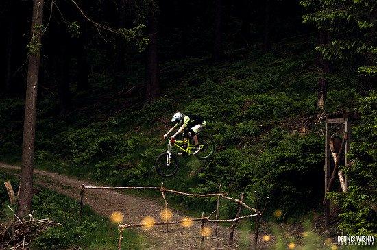 Roadgap im Bikepark Schulenberg