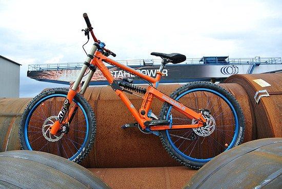 Bike powered by FOG Bikes