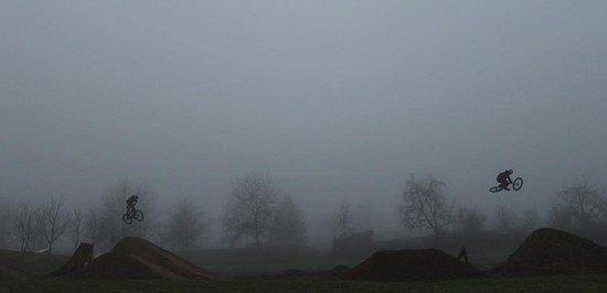 Wintereinbruch am Dirtpark Schönbrunn