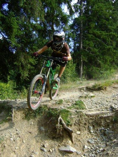 Me at Hot-trail