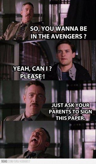Avengers Spiderman