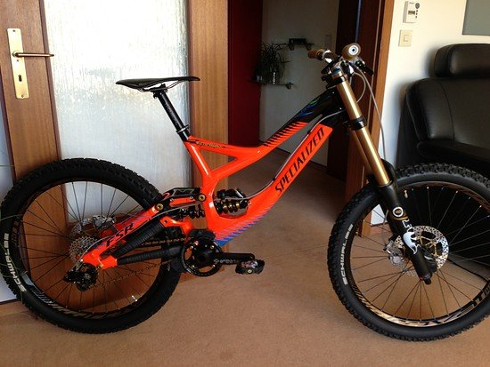 Specialized Demo 8 Troy Lee Designs