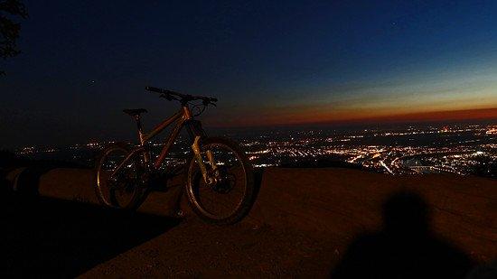 Enduro KS Sonnenuntergang