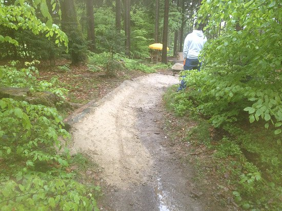 Bikepark Ochsenkopf Trailbau 2013