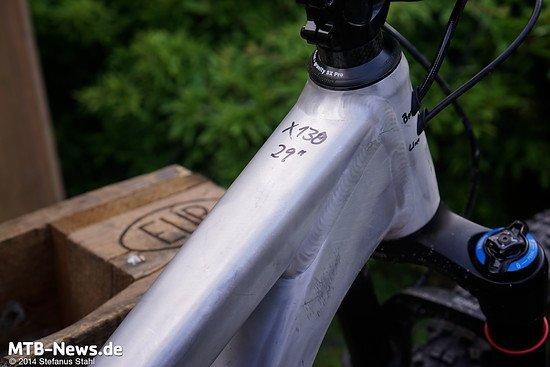 """Wie wohl das 130 mm 29""""-Bike aus Bocholt heißen wird?"""