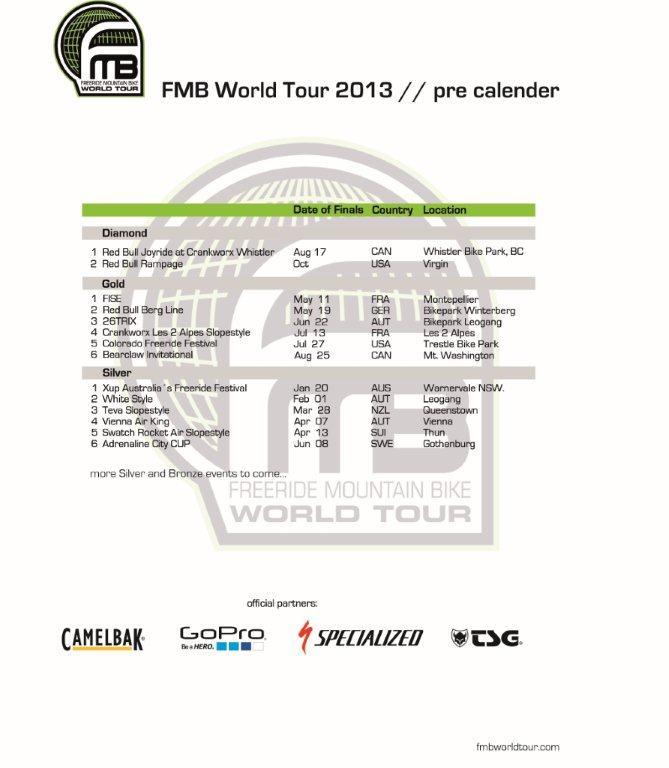 FMB World Tour 2013