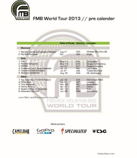 FMB World Tour 2013