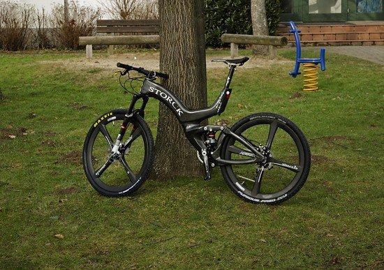 Kunststoff-Bike (Storck Organic Light)