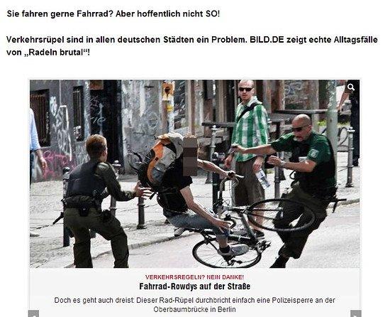radeln brutal = mortal biking ?