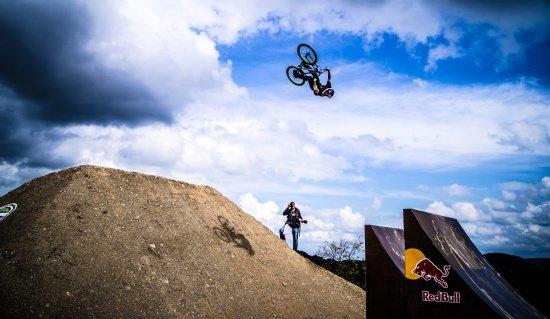 Anthony Messere auf der Red Bull Bergline