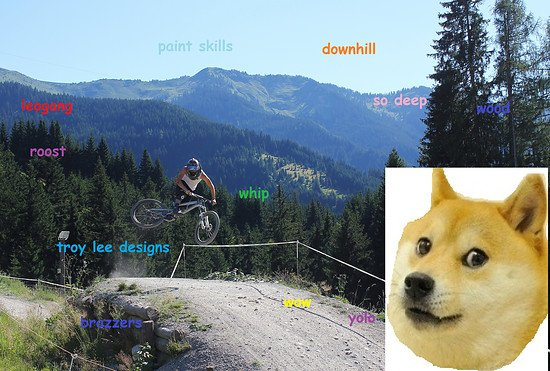 deep downhill