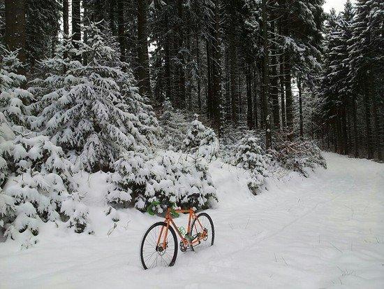 La Cruz deep snow ride #2