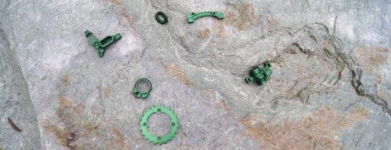 Andeer Granit und Grünzeug