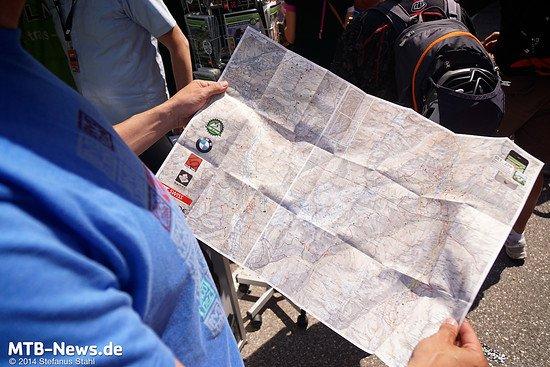 Wasserfest, reißfest, und mit jeder Menge Trail-Informationen gespickt