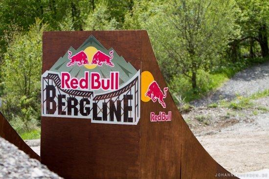 Red Bull Berg Line - hoffentlich bleibt es trocken!