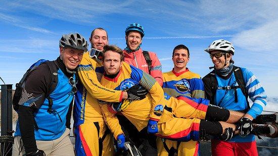 Die Freeride-Mountain-Crew