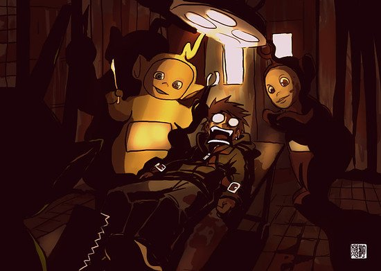 the teletubbies attacks again Silent Hill  Homecoming Parody by takeru san
