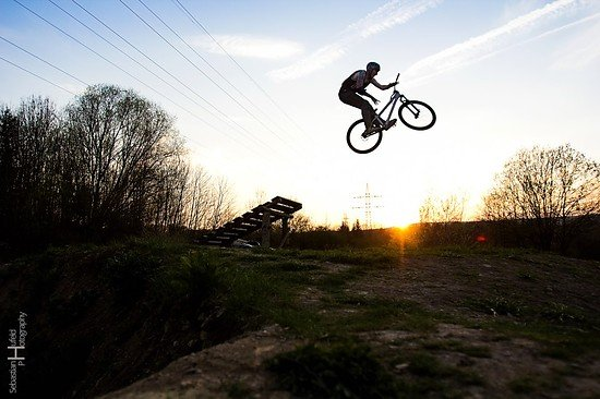 Barspin into the Sunset