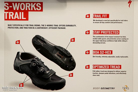Specialized 2014 - S-Works Trail Schuhe - Details