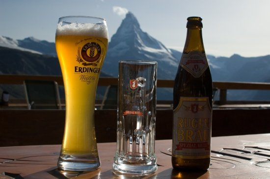 Schweiz 2012 / Matterhorn Erfrischung