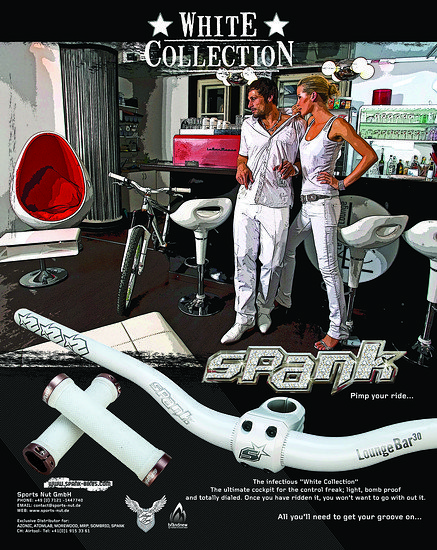 Legendär: Die White Collection-Anzeige von Spank