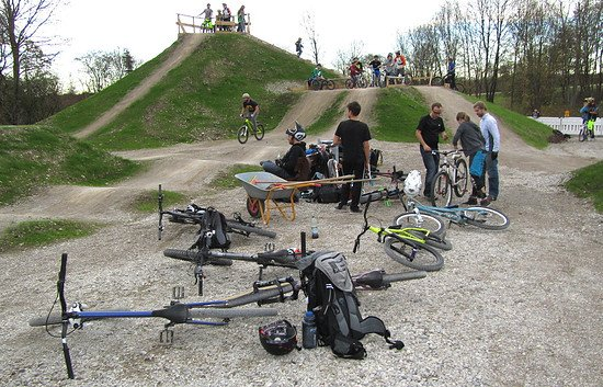 BMX-Dirtpark-Unterhaching