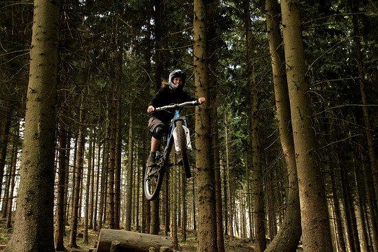 Inileinchen beim biken :)