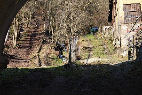 gelobtbachmühle - eingang elbseite