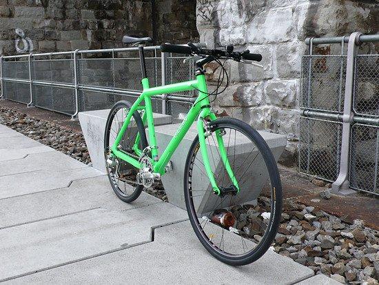 Mountain Klein in bright green (Repaint) nach der Restoration