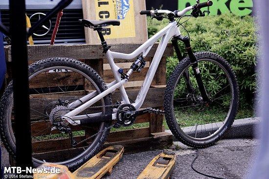 Große Räder, höherer Federweg, mehr Spaß lautet die Formel