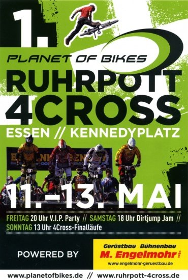 1. Planet of Bikes Ruhrpott 4Cross