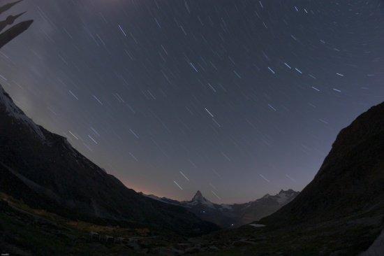 Schweiz 2012 / Matterhorn @ night