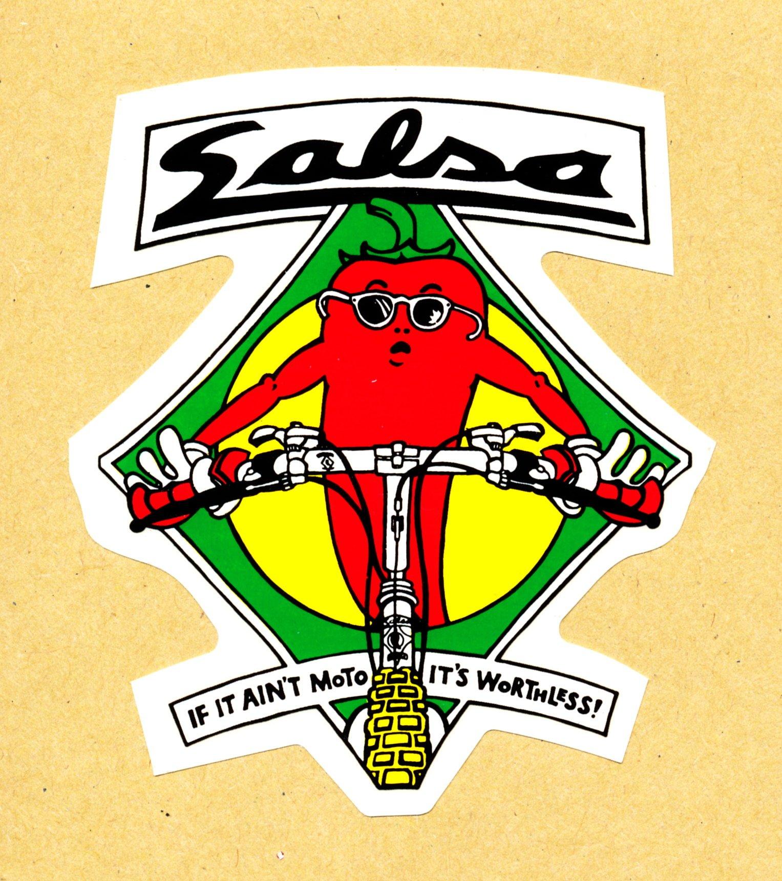 foto salsa cycles aufkleber quotif it aint moto its wo�