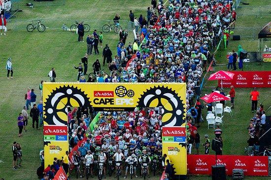 Start in Tulbagh zu Etappe 4! - Gary Perkin-Cape Epic-SPORTZPICS