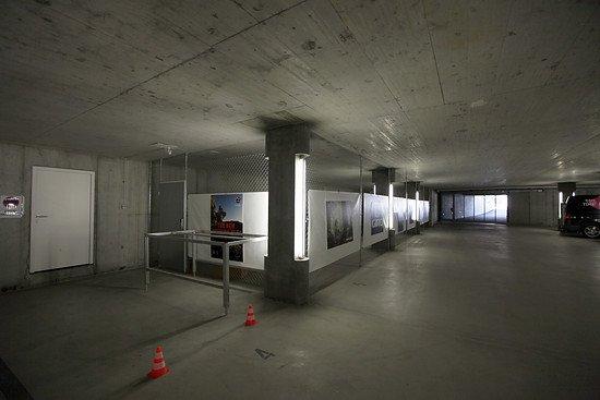 Videoüberwachter Bike-Bereich in der Tiefgarage