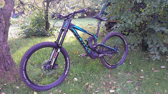 Scott Gambler mit Fast Suspension Boxxer