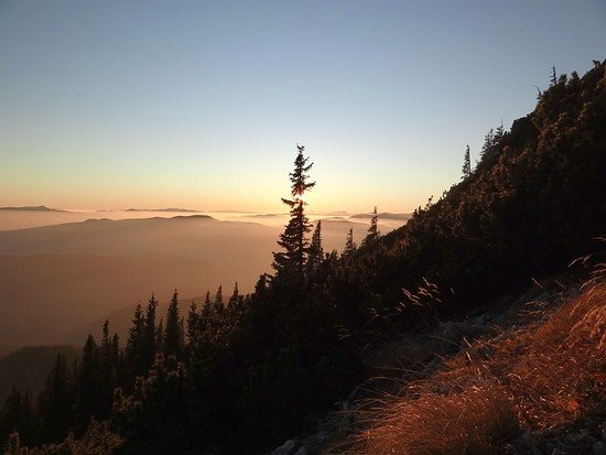 Nov.-Biken - Sonnenuntergang