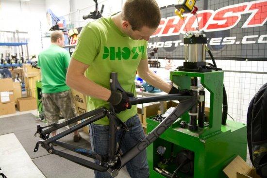 Ghost Bikes, Produktion