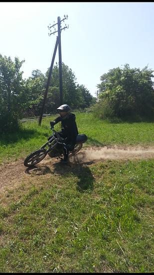 Moped fahren!