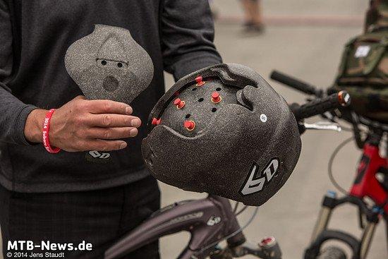 6D Helmets - 2 Schalen plus Elastomere