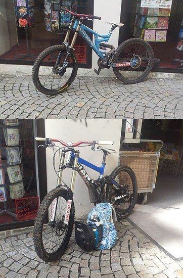 2 Bikes one Love