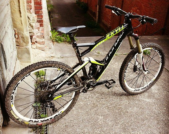 Cannondale Jekyll 13,7kg