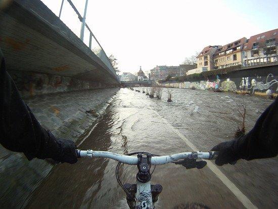 Hochwasser - Dreisam