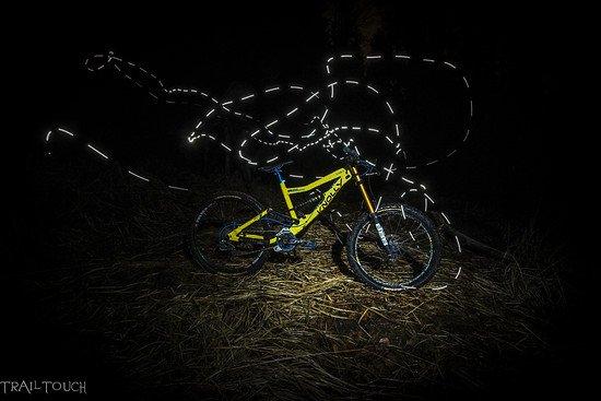 Yellow Podium @Night